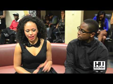Elle Varner Interview at Howard University's Homecoming Fashion Show