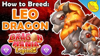 How to Breed the LEO DRAGON In DML! 4 BEST Breeding Combinations! (JULY 2019 DOTM)