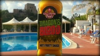 Review Dragons Blood Hot Fruity Sauce By Chilli Pepper Pete