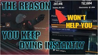 The Division: THE REASON YOU ARE INSTANTLY DYING!