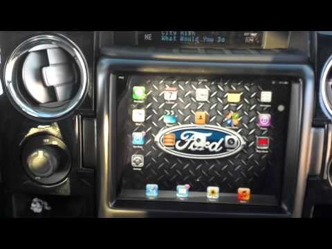 Ford F150 Top Slider Ipad Mount, One Of A Kind!!!