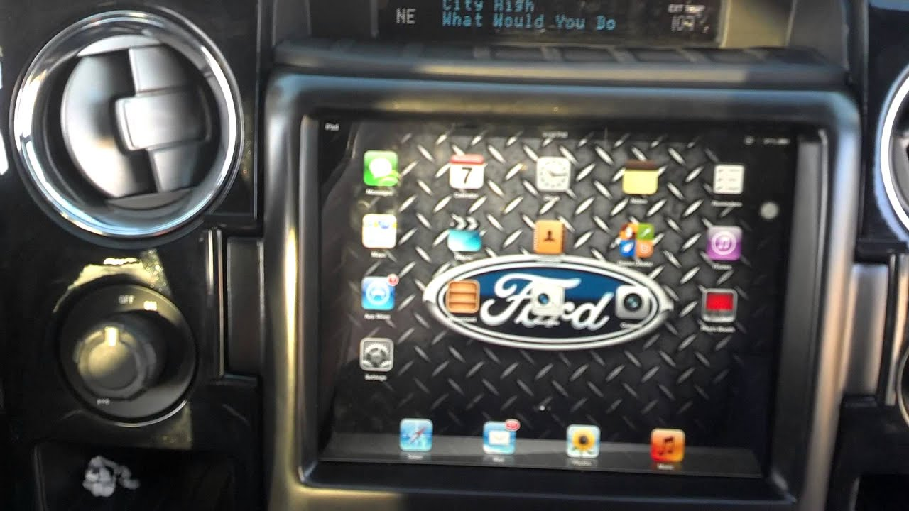 Ford F150 Top Slider Ipad Mount One Of A Kind Youtube