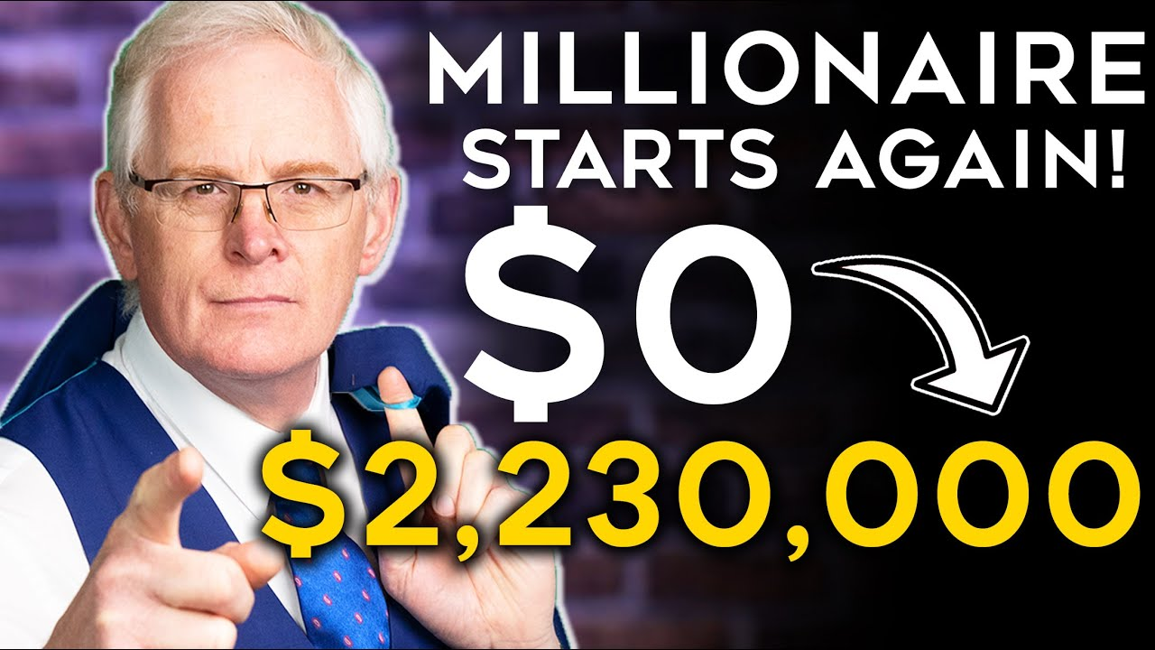 Passive income Plan Millionaire Starts Again from Scratch NO MONEY