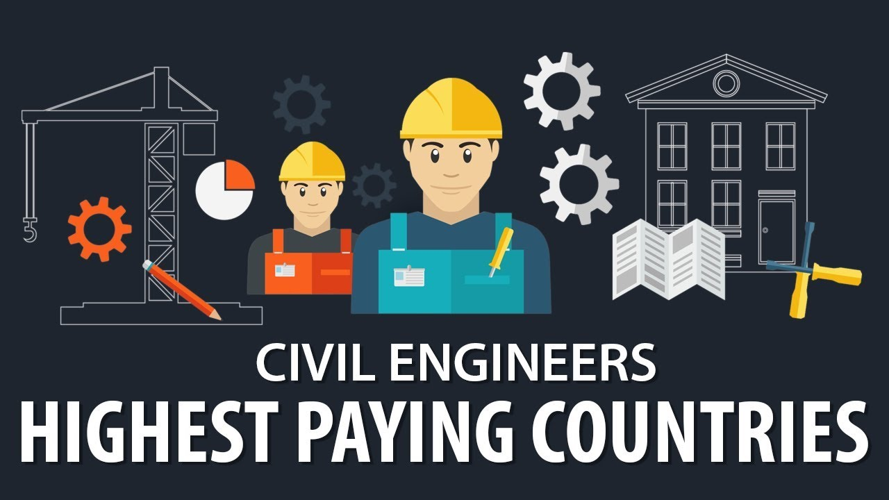 Highest Paying Countries for Civil Engineer (Civil Engineering) - YouTube