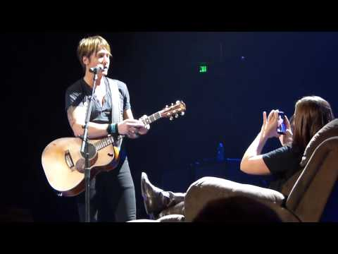 """""""Come Back To Me"""" - Keith Urban In Nashville 2/1/14"""