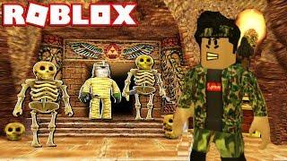 Defineyi Buldum Ama Mumyalar Peşime Düştü ! Roblox Explorer Simulator