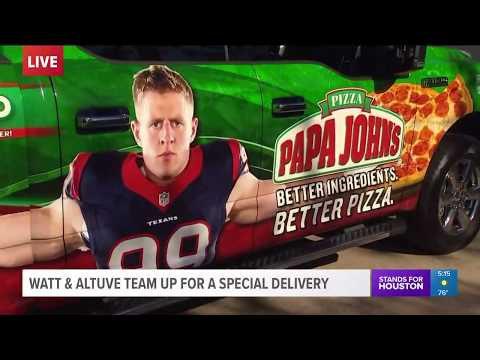 Watt, Altuve Team Up For Special Delivery