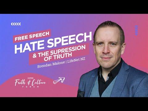 Free Speech Hate Speech & the Suppression of Truth | Brendan Malone