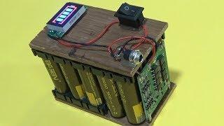 Bateria 12 voltios recargable casera