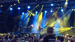 Paul Heaton & Jacqui Abbott - Castlefield Bowl 03.07.15 - Five get over excited