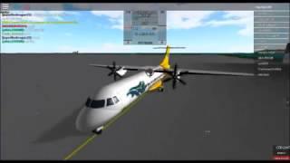 Roblox-Cebu Pacific ATR 72-500 crushed!!!!!!