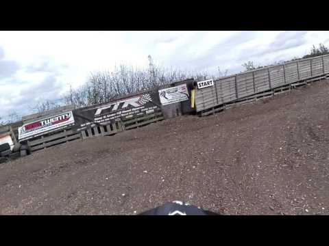 The Ranch kids motocross track video 2. Onboard with Declan May 2016