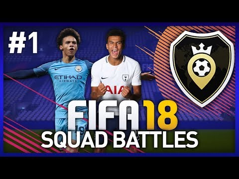 BUILDING MY FIRST TEAM! FIFA 18 SQUAD BATTLES - EPISODE #1