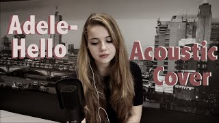 Video Adele- Hello (Acoustic Cover) download MP3, 3GP, MP4, WEBM, AVI, FLV Desember 2017