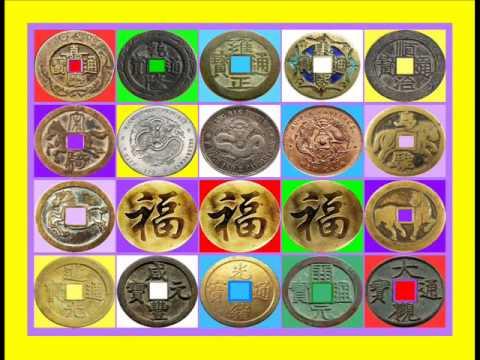 เหรียญจีน+เหรียญมังกร เสียงเงินไหลมา 5ธาตุ {2HOUR}