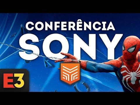 E3 2018 EM PORTUGUÊS   CONFERÊNCIA SONY