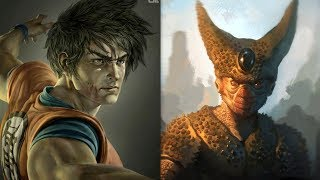 All Realistic 🔥Dragon Ball Z🔥 (DBZ) Characters 2018.