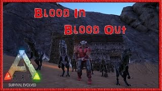 """Ark Survival Evolved """"Blood In Blood Out"""" Stone Age Banging Arc Survival Evolved Gameplay LIVESTREAM"""