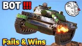 JESTEM BOTEM! - FAIL COMPILATION - World of Tanks