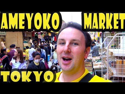 Ameyoko Market Tokyo Japan Travel Guide