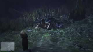 GTA5 PS4 : Wasserleiche am Boden der Tatsache.