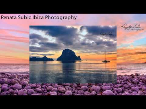 Magic sunsets of Ibiza