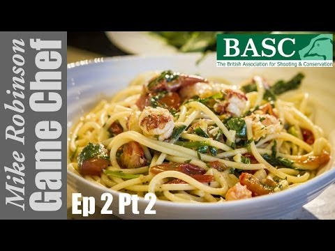 Cooking Crayfish Pasta Step By Step With ITV Game Chef Mike Robinson (Part 2)