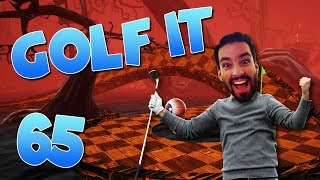 Whiskey & The Spooky Forest! - SUPER GOOD MAP! (Golf It #65)