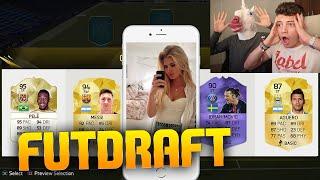TINDER FUTDRAFT with HOT GIRLS!! - Fifa 16 Ultimate Team