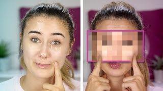full face make up (deutsch) challenge: alles OHNE foundation