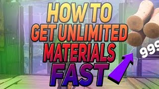 HOW TO GET UNLIMITED RESOURCES ON FORTNITE