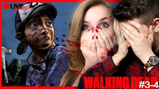 { ZAPIS Z LIVE} ☠️ THE WALKING DEAD ☠️ ep. 3 i 4