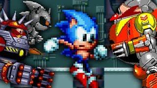 Sonic Mania - Classic Final Bosses - Walkthrough