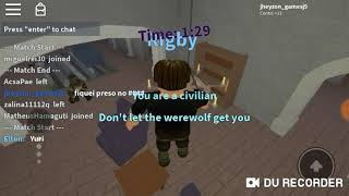 If VCs Asistir this video is from Bug Roblox-a wolf o other