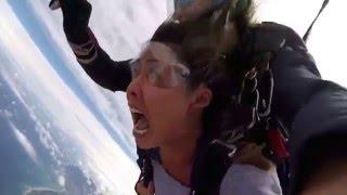 Great Ocean Road 14,000ft Tandem Skydive @ Barwon Heads Airport - Fiona