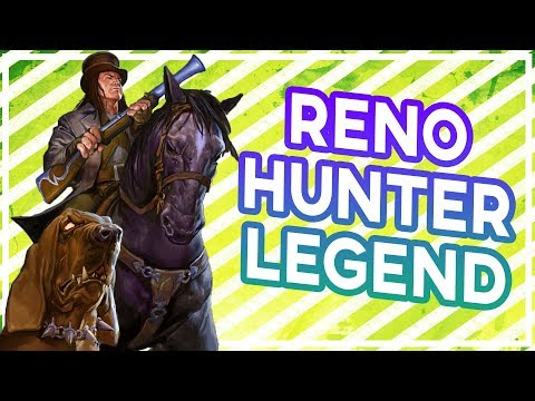 Hearthstone: Reno Hunter Now A Legend Deck (Shaw Is Great)