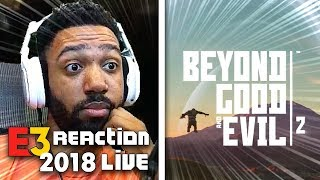 BEYOND GOOD AND EVIL 2 LIVE REACTION! - UBISOFT [E3 2018]