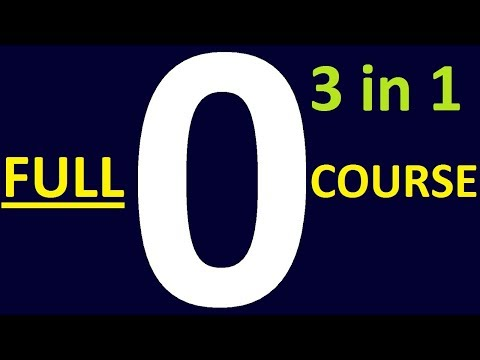 6 HOURS - LEARN ENGLISH GRAMMAR LESSONS FOR BEGINNERS FULL COURSE. 3 COURSES in 1