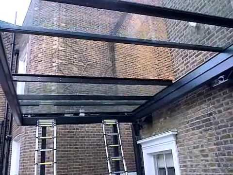 Sliding Glass Roof By Cantifix Youtube