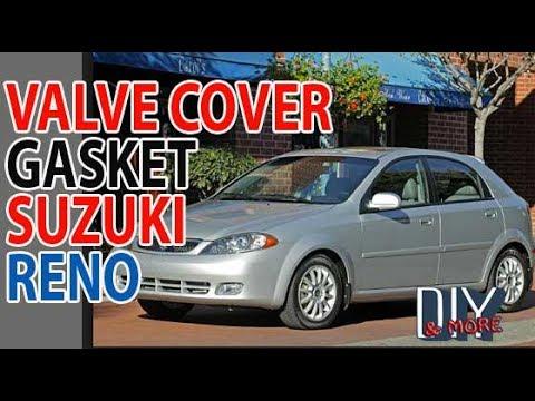 DIY 2005 SUZUKI RENO VALVE COVER GASKET REPLACEMENT