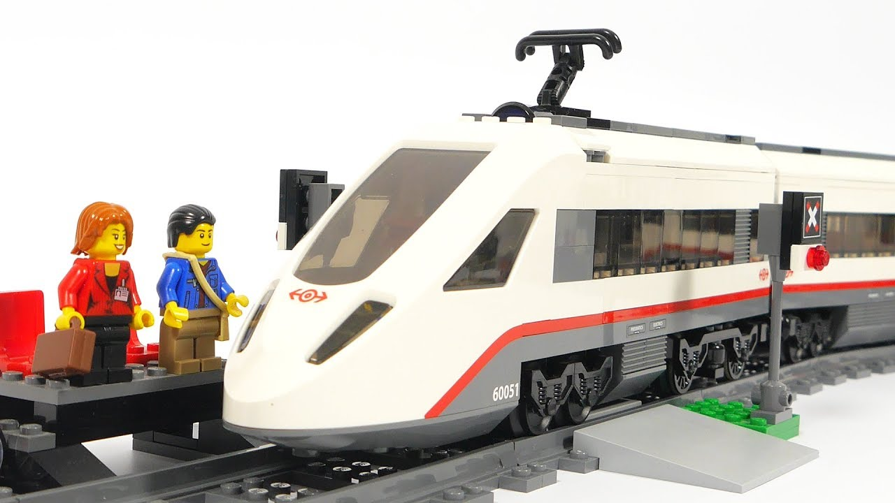 Lego City 60051 High-speed Passenger Train - YouTube