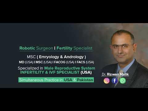 Dr. Rizwan Malik   AFC [Pakistan's No.1 IVF & Genetic Centre]   Rawalpindi/Islamabad   Infertility