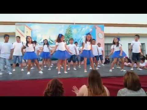 Baile Fin de Curso 2014 / 2015 2º Primaria colegio Maristas Sanlucar la Mayor