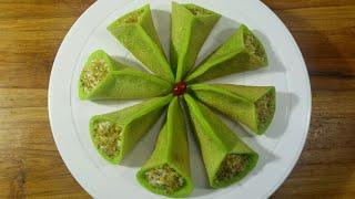 Qatayef With Cream Recipe/কাতাইফ উইথ ক্রীম অ্যারাবিক ডেজার্ট রেসিপি/Dessert Recipe