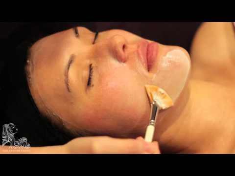 Relaxing One hour facial video with meditative music only