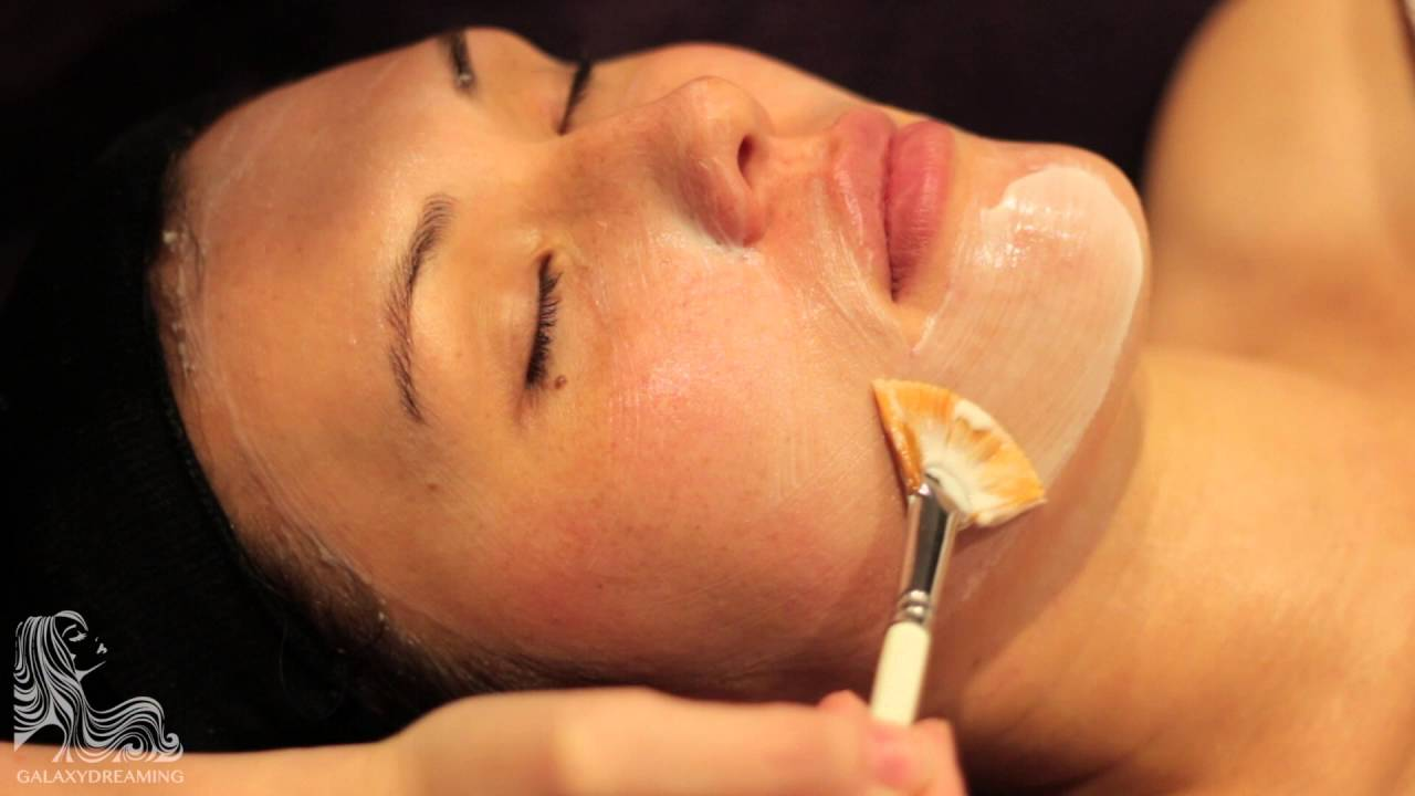 Relaxing One Hour Facial Video With Meditative Music Only Youtube