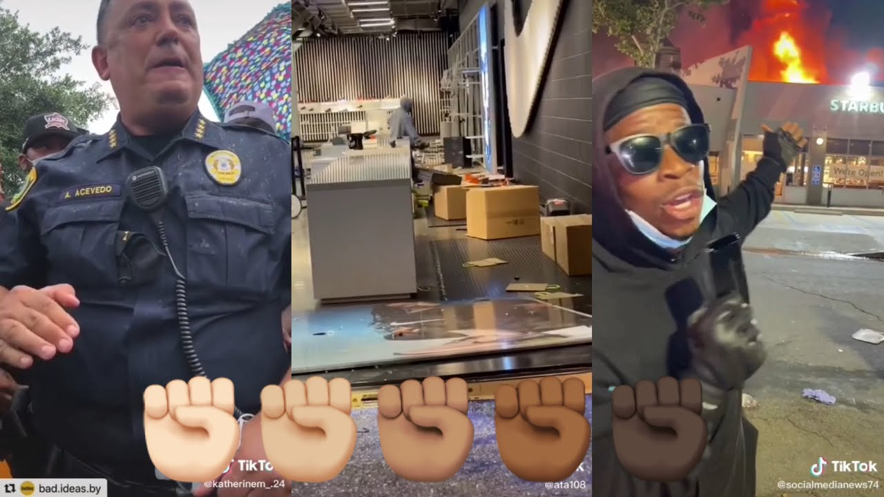 6 minutes of people looting and destroying places | TikTok Compilation