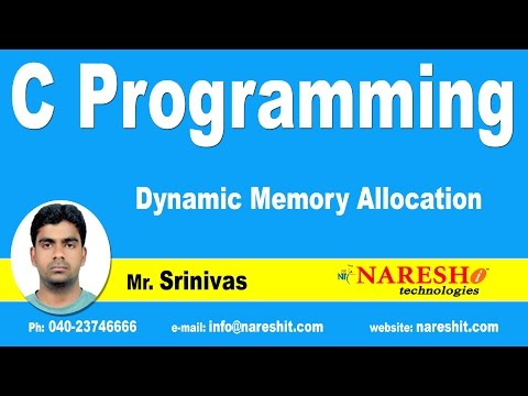 Dynamic Memory Allocation | C Language Tutorial