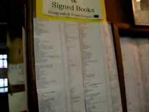 Tony's Visit to John King Books in Detroit Part One