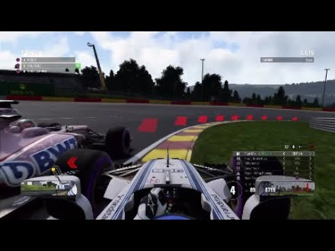 F1 2017 Career Mode #32 - PEREZ IS A BEAST!!!